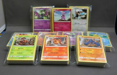 Pokemon Bulk Lot TCG - 50 CARD LOT COMMON UNCOMMON GUARANTEED RARE + HOLO CARDS
