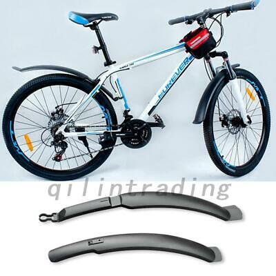 Mountain Bike Mudguard 26'' Bicycle Cycling Front Rear Mud Guards Fenders Set AU