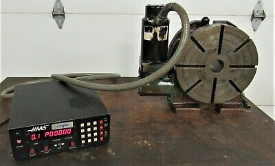 Haas TROYKE 12 INCH  4th axis  ROTARY indexer  FOR Bridgeport OR Cnc MACHINE