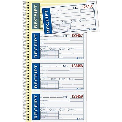 "Adams Write N' Stick Receipt Book 2-Part 5-1/4""x11"" SC1152WS"