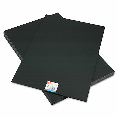 Elmers CFC-Free Polystyrene Foam Board 20 x 30 Black Surface and Core 10/Carton