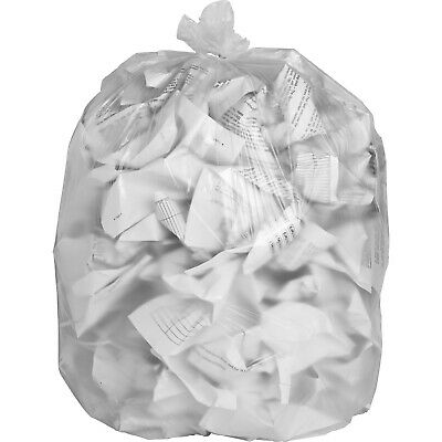 """Special Buy Trash Bag Liners 24""""x32"""" 8 mic High Density 1000/CT Clear HD243308"""