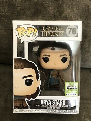 Funko Pop! Game of Thrones Arya Stark #76 ECCC 2019 Shared Exclusive **read***