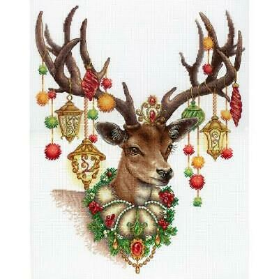 MP Studia Counted Cross Stitch Kit - Decorated Stag