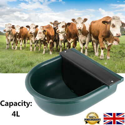 4L Automatic Water Bowl Trough Horse Cow Dog Drink Pony Sheep Goat Cattle Farm