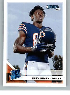 2019 Donruss Football Rated Rookie 336 Riley Ridley - Chicago Bears RC