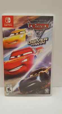 Cars 3: Driven to Win (Nintendo Switch, 2017)
