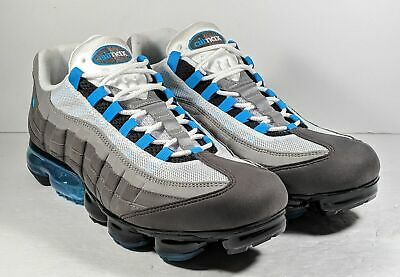 *NEW* NIKE AIR Vapormax 95 'Neo Turquoise' AJ7292 002 Men's Sz 13 Black Grey