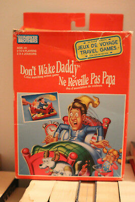 Don't Wake Daddy Game, Travel Version, Parker Brothers, 1993