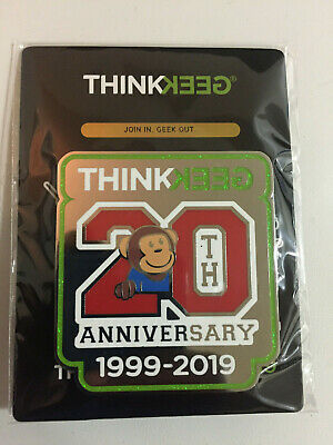 SDCC 2019 Exclusive Pin - Thinkgeek 20th Anniversary