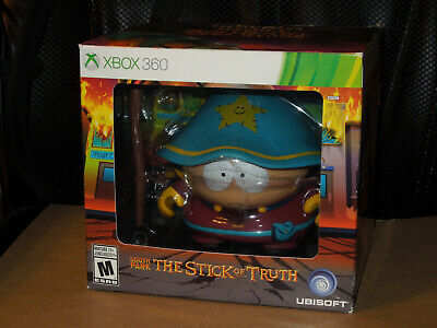"""South Park The Stick of Truth Kidrobot Grand Wizard Cartman 6"""" Figure and Map"""
