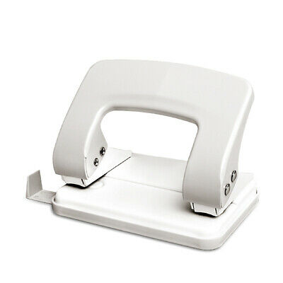 2-Hole Punch Padded Handle 20-Sheet Capacity Metal Puncher