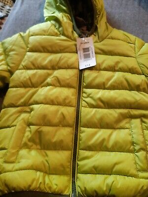 matalan boys padded packable reversible coat 3-4yrs