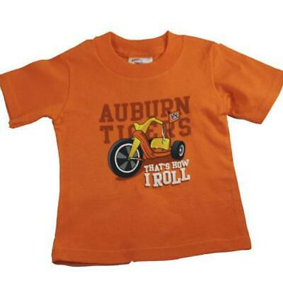 Big Wheel Auburn Tigers Infant and Toddler T Shirt