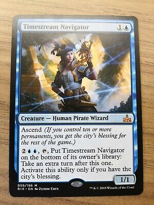 Rivals of Ixalan Timestream Navigator Prerelease FOIL NM MTG Magic - M