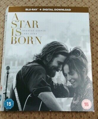 A Star Is Born Blu Ray Cardboard Sleeve Slipcover ONLY NO DISC OR CASE
