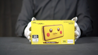 Nintendo New 2DS XL Pikachu Limited Console PAL - 'The Masked Man'