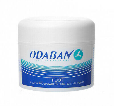 Odaban Antiperspirant Foot and Shoe Powder, Long-Lasting & Effective, 50 gram