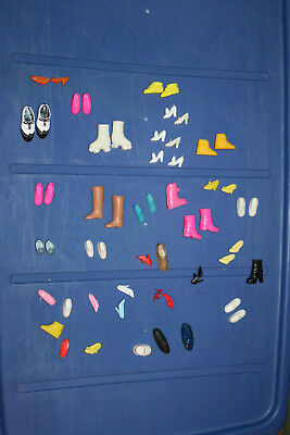 Huge lot of mixed Barbies accessories for dolls & more shoes boots toys lot #5
