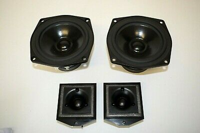 Complete Set Of Drive Units From Canon Speakers 2x Mid/Bass 2x Tweeters