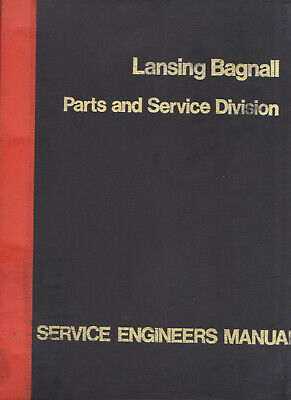 Lansing Bagnall Service Engineers Manual Hydraulics & Associated Mechanical Equi