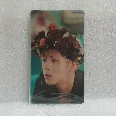 BTS BANGTAN BOYS Wings Concept Book  Official Limited Lenticular Photocard Jin