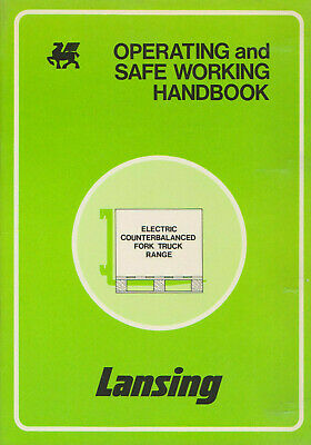Lansing Operating & Safe Working Handbook For Electric Counterbalance Forklifts