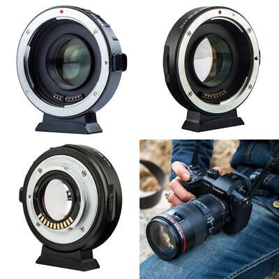 Viltrox Ef-M2 Ii Electronic Af Auto Focus 0.71X Focal Reducer Speed Booster Lens