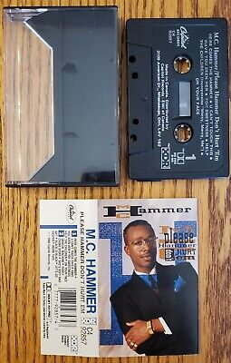 M.C. Hammer - Please Hammer Don't Hurt 'Em Cassette Free Shipping In Canada