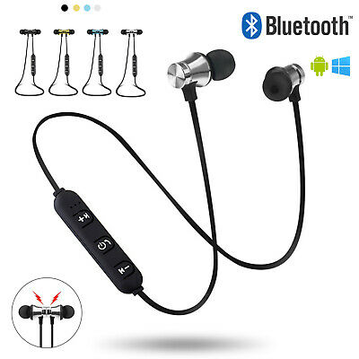 AURICOLARI CUFFIE BLUETOOTH WIRELESS SPORT STEREO + MIC x SAMSUNG IPHONE HUAWEI