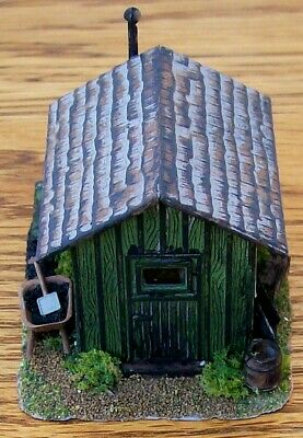HO Custom Built & Detailed-TRACKSIDE TOOL/WORK SHED BUILDING~Very Nice