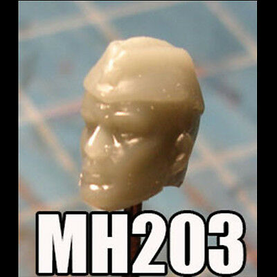 """MH444 Custom Cast Sculpt Male Elf head cast for use with 3.75/"""" action figures"""