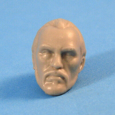 "MH178 Custom Cast Male head for use with 3.75/"" GI Joe Star Wars Marvel figures"