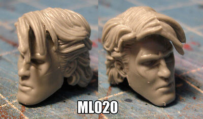 "ML128 Custom Cast male head use with 6/"" ML Legends action figures"