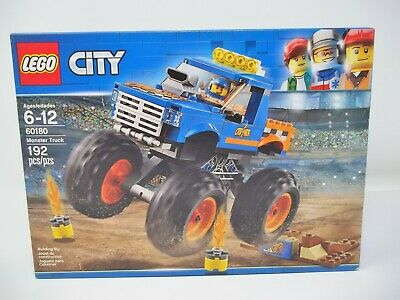 LEGO City Monster Truck 60180 Building Toy Set .192 Pieces New factory Sealed