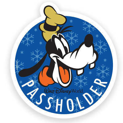 Walt Disney World Epcot Annual Passholder featuring Goofy! Car Magnet COPY/DECOY