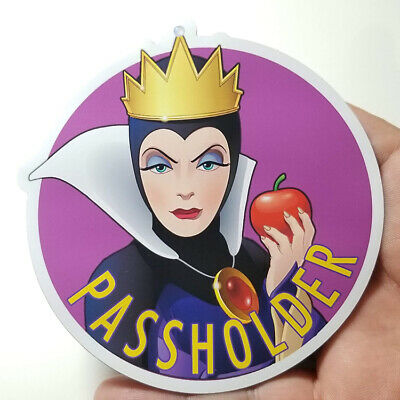 Sale! Disney World Annual Passholder 2019 Evil Queen (Wicked Queen) Car Magnet!