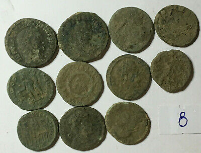 >>> Beautiful High Quality Uncleaned Roman Coins  10 pcs <<<
