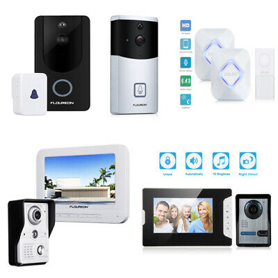WiFi Wireless Smart Video Doorbell 720P HD Security Camera Chime Night Vision UK
