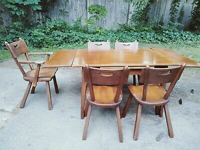 Rare set of Cushman Colonial Creations dinning room set