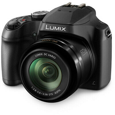 Panasonic LUMIX DC-FZ80 4K/60x Zoom Digital Camera - Black NEW!