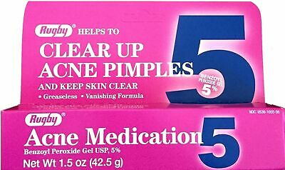 Benzoyl Peroxide 5 % Generic for Oxy Balance Acne Medication Gel 1.5 oz per Box