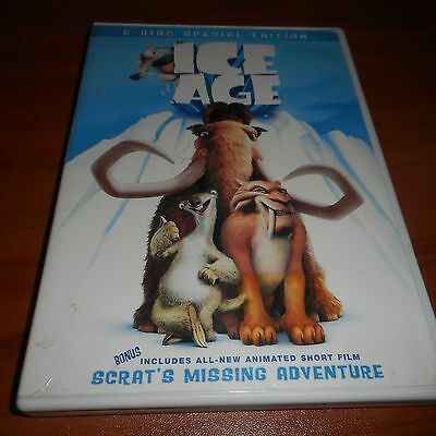 Ice Age (DVD, 2002, 2-Disc Full Frame/Widescreen)