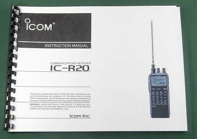 ICOM IC-736/IC-738 INSTRUCTION manual - Premium Card Stock Covers