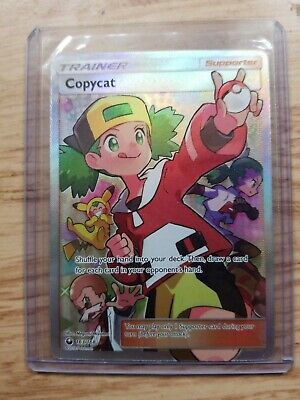 1x Copycat Ultra Rare Celestial St 163//168 Full Art NM-Mint Pokemon SM08
