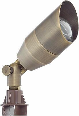 Westgate LED  Landscape Garden Lights- Solid Brass Antique Bronze Finish 12V
