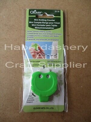 Clover Mini Knitting Counter With  Lock 3118