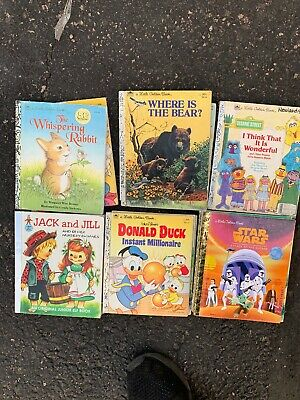 Little Golden Books – Lot of 10 RANDOM MIX Unsorted Disney Classic Christmas Etc