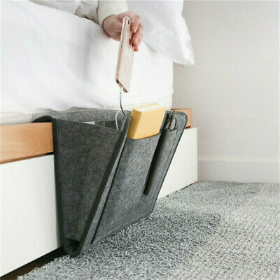 1 Pcs Felt Bedside Sofa Book Hanging Sundries Organizer Dormitory Storage Bag