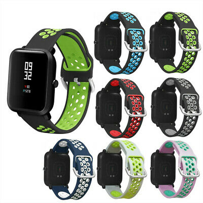 Silicone Watch Band Wrist Strap For Xiaomi Huami Amazfit Bip Youth/LITE Watch
